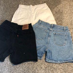 Levi's Shorts - Vintage High Waisted Shorts Bundle